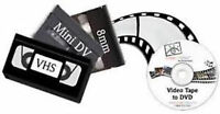 KEN'S VIDEO TAPE TO DVD SERVICE 8MM-- MINI DV-- VHS TO DVD