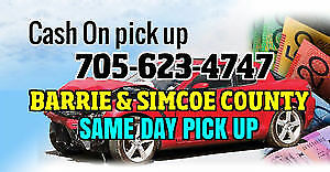SCRAP VEHICLES WANTED , SUPPORT YOUR LOCAL BUSINESS 705 623 4747