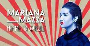 2 billets Mariana Mazza 6 Septembr a Laval deuxieme rangée(A)  M