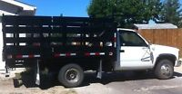 One Ton Truck junk removal call 204-997-0397