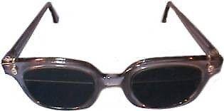 Quartzworking Split Glasses in Plastic Safety Frame - 1/3 Top #4 - Bottom 2/3 #8