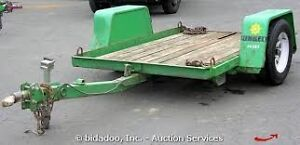 WANTED DITCH WITCH TRAILER TILTING