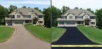 Residental Asphalt Driveway Sealing