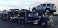 Car Carrier's for Hire. Weekly Departures heading West. Ship Car
