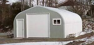 25x36x16 Brand New A Frame Steel Building