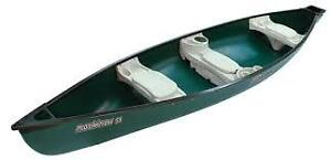 Great Deal! Just add water - 15.6 ft Mackinaw Square Stern canoe