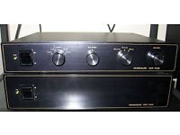 Magnum Pre and Power Amplifiers