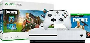 Brand New: X-Box One S Fortnite Edition Unopened