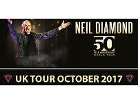 Neil Diamond at the SECC - October 3rd