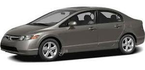 2008 Honda Civic Lx Sedan (manual transmission)