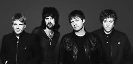 3 x Kasabian Tickets (Seated not Standing) at the Glasgow SSE Hydro
