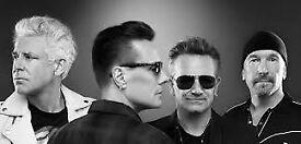 U2 Tickets x2 Trafalgar Sq Tonight!