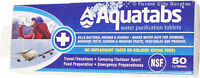 AQUATABS WATER PURIFICATION TABLETS - For safe water anywhere!!