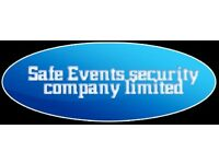 SIA DOOR LICENSED & EVENT STEWARDS REQUIRED.NVQ L2