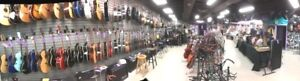 Huge selection of Guitars, new from $99. IN stock