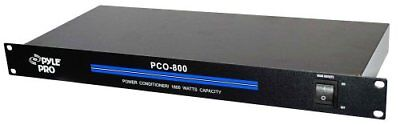 Pyle-Pro PCO800 19'' Rack Mount 1800 Watt Power Conditioner