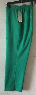 Allison Fit Hose (ALLISON DALEY Woman Slim Fit Dress Pants Elastic Waist Jade Size 18 W Short NWT)