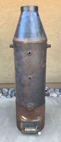 Live Steam Vertical Boiler Engine Fire Box