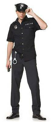 4-teiliges Police Officer Outfit Set - Police Officer Uniform Kostüm