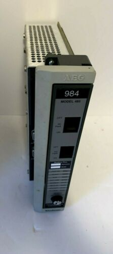 AEG MODICON MODEL PC-0984-485 PROGRAMMABLE CONTROLLER - P/N AS-9771-000