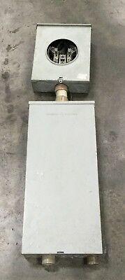 Thomas Bettes Urs1394-hpm-dp Meter Socket W Load Center Meter Box Lot 10