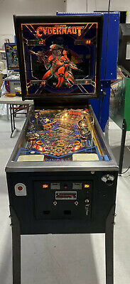 Cybernaut Pinball Machine Bally Coin Op Arcade 1985 Free Shipping
