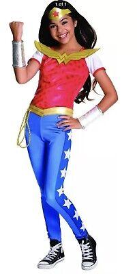 Girls Super Hero Costume (NEW Wonder Woman Halloween Costume Small 4-6 for 3-4 Years DC Super Hero)