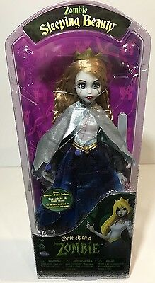 Zombie SLEEPING BEAUTY Doll Once Upon A Zombie WowWee PRINCESS 2012 Rare - Once Upon A Zombie Dolls
