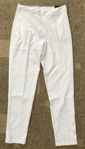 Nike Flex Womens Golf Pants White Size Small S Standard Fit Pull-On AJ5240-100