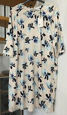 ☆Lush JUNAROSE  3/4 Sleeve Below Knee Dress (Design 2)☆Plus Size 24☆BNWT!☆