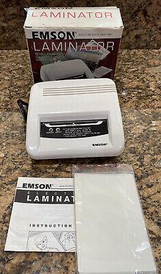 Emson Electric Laminator Model 2291, 4
