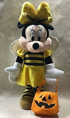 Disney Halloween Minnie Mouse Weighted Plush Figure 22