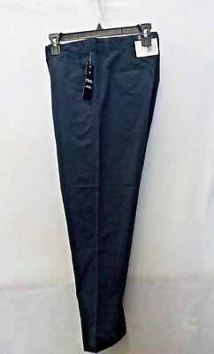 Boys Size 16 Husky Chaps Navy Moisture Wicking Uniform Pant New Nwt  #12624