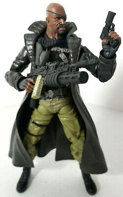 """Marvel Legends TRU Exclusive 2 Pack Nick Fury ONLY 6"""" Loose Figure by Hasbro"""
