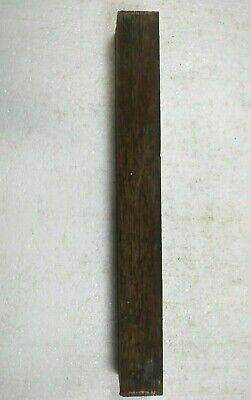 "2"" X 18"" -BLACK PALM POOL CUE BLANKS, TURNING WOOD, GUN KNIFE SCALES  FREE SHIP!"