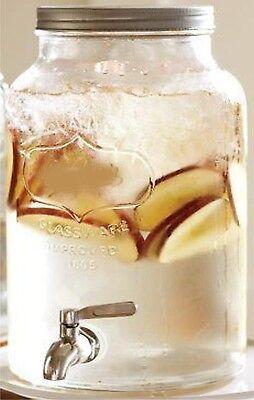 Getränkespender mit Zapfhahn Wasserspender Getränkefass Spender Cocktail Bowle