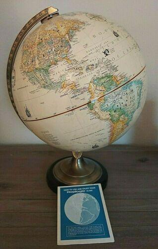 Globe Vintage Replogle 12 World Series Stand Classic Base Inch Metal Floor USA