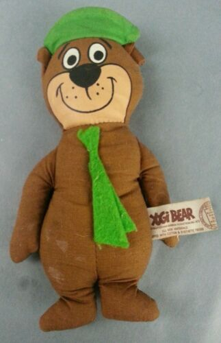 Vintage Yogi Bear Knickerbocker Doll Hanna Barbera