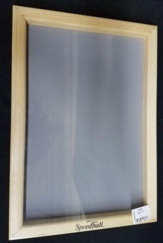"""Speedball 12"""" x 18"""" Silkscreen Frame (Frame With Fabric) 110 Mesh #4713"""