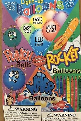 Rocket Punch Balloon 1 Inch Toys 1 Bulk Vending Machine Capsules 250 Pieces