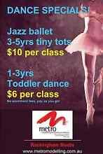 JAZZ BALLET 3-5yrs $10 PAY AS YOU GO ROCKINGHAM Rockingham Rockingham Area Preview