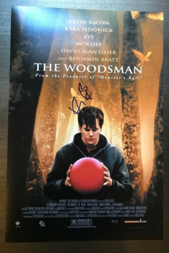 * KEVIN BACON * autographed signed 12x18 photo poster * THE WOODSMAN * 1