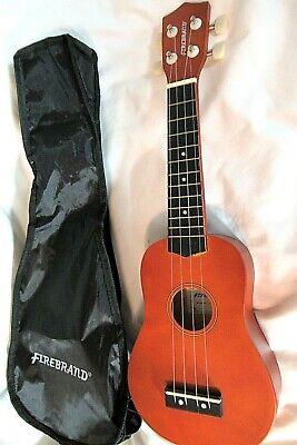 Firebrand Ukelele Model 37379 with original branded soft case, very good