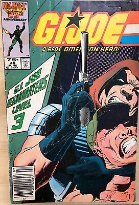 G.I. JOE #48 (1986) Marvel Comics G/VG