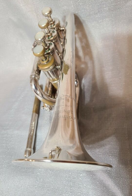 E Benge Los Angeles Piccolo Trumpet Resno-Tempered Bb/A Leadpipes Ready To Play
