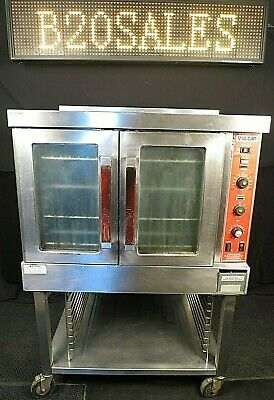 Sg4d Vulcan Commercial Single Deck Full Size Convection Gas Oven