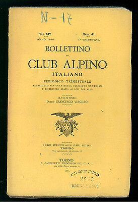 BOLLETTINO DEL CLUB ALPINO ITALIANO N. 41 VOL. XIV 1° TRIMESTRE 1880 MONTAGNA