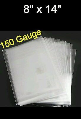 1000x Poly LDPE Clear Bags 8