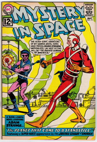Mystery in Space # 75 (1962) VF+