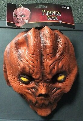 HALLOWEEN PUMPKIN MASK ADULT SIZE NEW WITH TAGS  AWESOME BRAND NEW](Awesome Masks)
